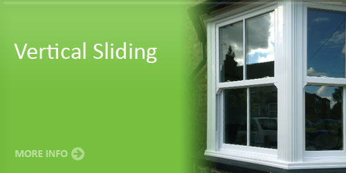 Example product of our vertical sliding window service