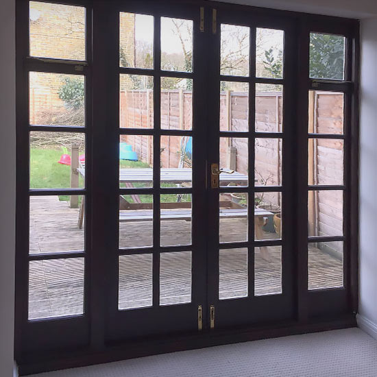 French Doors Installers: High Security, *A-Rated, PVCu on
